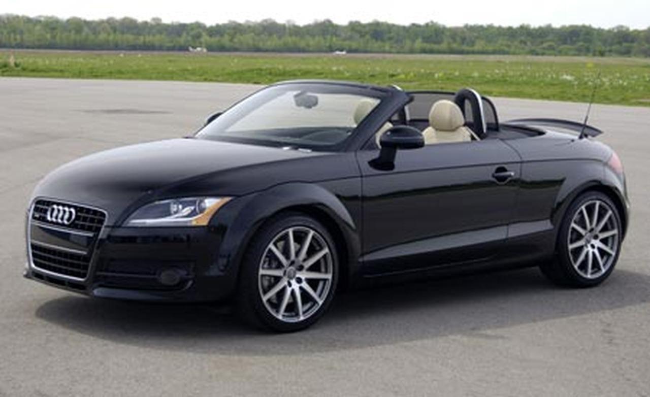 2008 Audi Tt 3 2 Quattro Roadster Instrumented Test