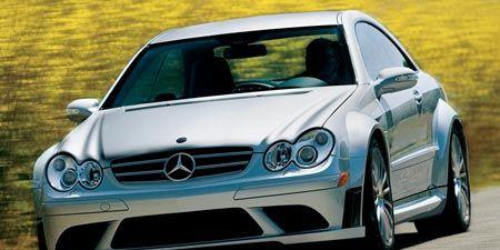 2008 Mercedes Benz Clk63 Amg Black Series