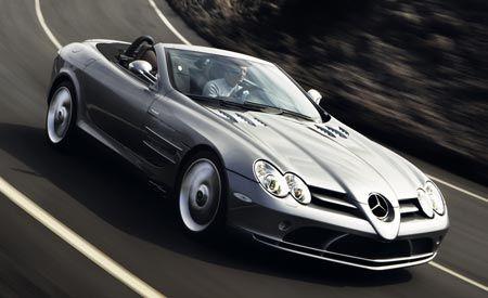 2008 mercedes benz mclaren slr roadster