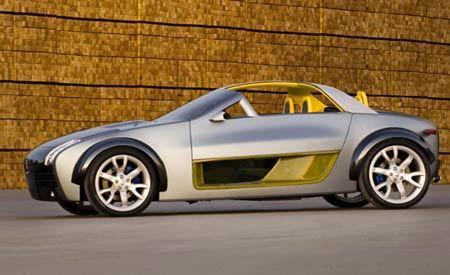 Nissan small sports car