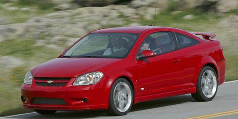 2005 chevy cobalt coupe specs