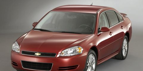 2008 impala manual trunk release