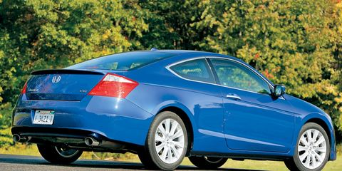 2008 Honda Accord Ex L V6 >> 2008 Honda Accord Coupe Ex L V 6