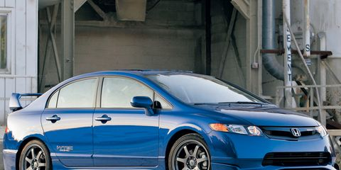 2007 honda civic si coupe hfp kit