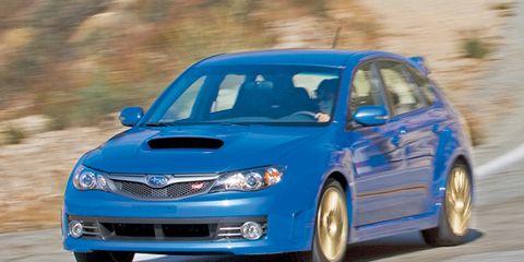 2008 Subaru Impreza Wrx Sti Road Test 8211 Review 8211 Car And Driver