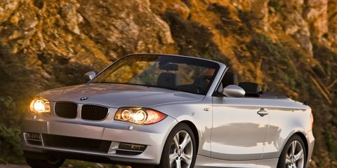 2009 bmw 135i series convertible