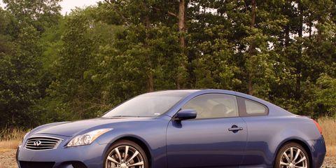 2008 Infiniti G35 and G37