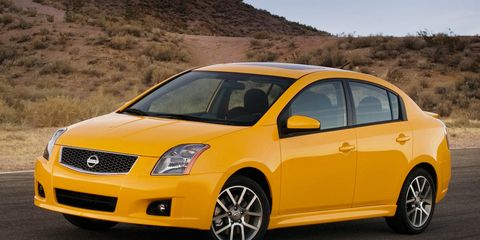 2008 Nissan Sentra And Sentra Se R Spec V