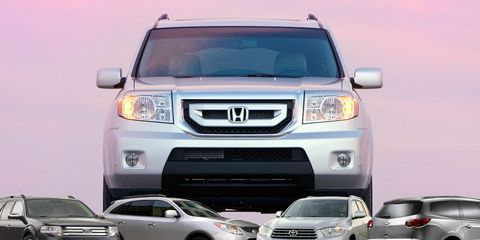 Family-Romper Roundup: 2009 Honda Pilot Meets Its