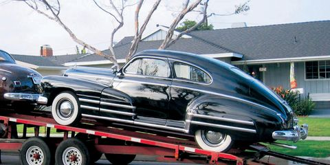 Odessa's Buick Pays a Visit