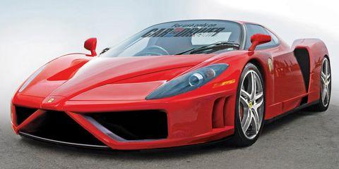 Automotive design, Vehicle, Car, Red, Supercar, Rim, Sports car, Performance car, Alloy wheel, Automotive exterior,