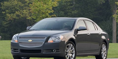 Chevy Malibu Mpg >> Chevrolet Launches More Fuel Efficient 2008 Malibu Ltz