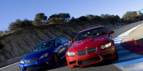 2008 Bmw M3 Vs Lexus Is F