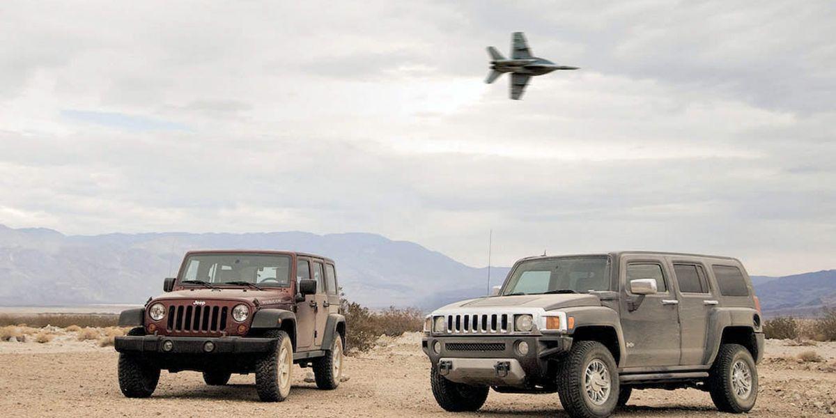 2008 Hummer H3 Alpha Vs 2008 Jeep Wrangler Unlimited