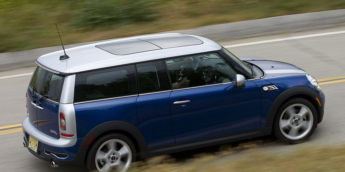 2008 Mini Cooper S Clubman Road Test 8211 Review Car And Driver