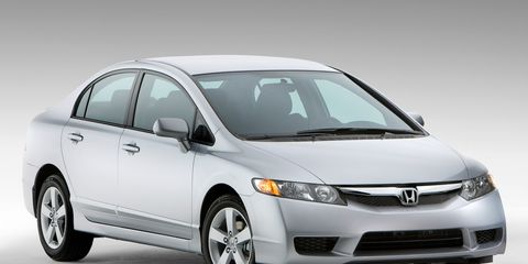 2009 honda civic coupe lx review
