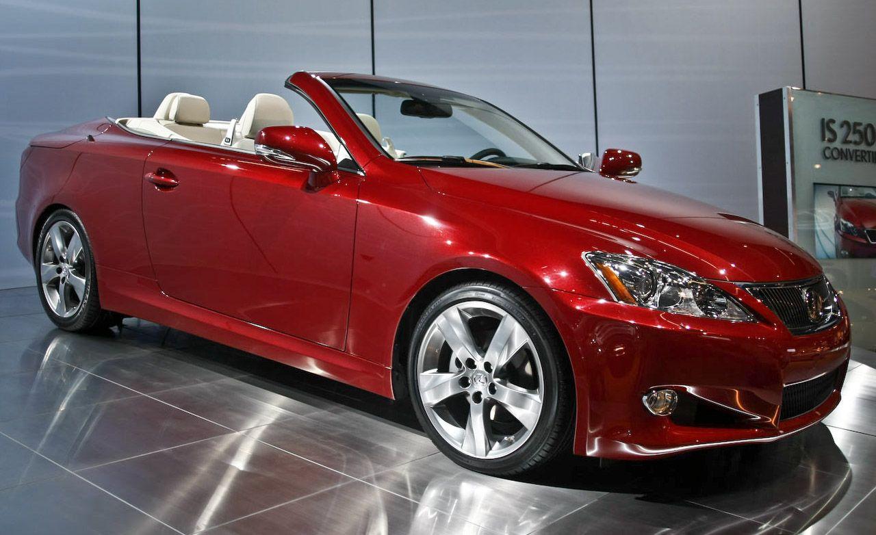2009 Lexus Is Convertible Is250c Is350c