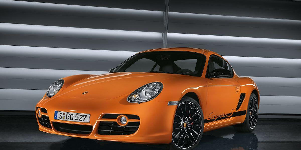 2009 Porsche Boxster S Porsche Design Edition 2 And Cayman S
