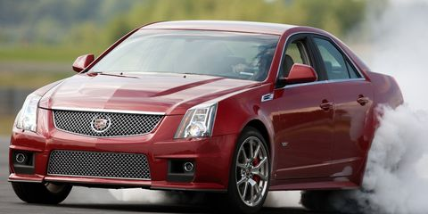 Cadillac cts v coupe 2009