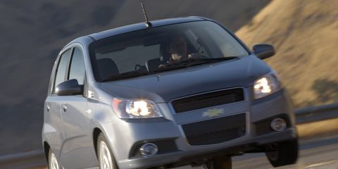 2008 chevy aveo hatchback interior