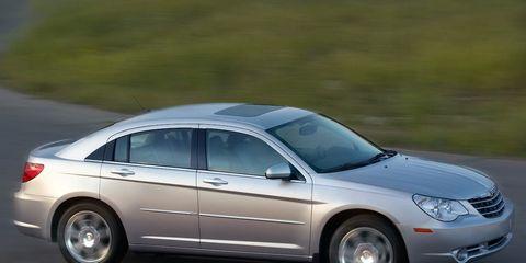 2009 Chrysler Sebring Sedan Convertible