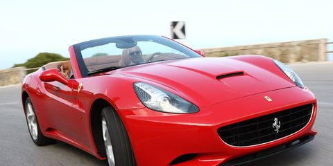 Automotive design, Mode of transport, Vehicle, Red, Car, Performance car, Hood, Sports car, Fender, Automotive mirror,
