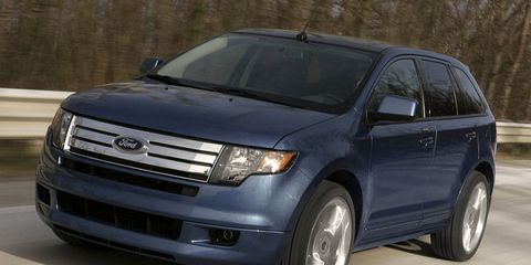 Ford Edge Towing Capacity >> 2009 Ford Edge