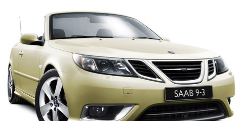2009 Saab 9-3T Convertible Special Edition