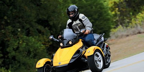2008 BRP Can-Am Spyder Roadster