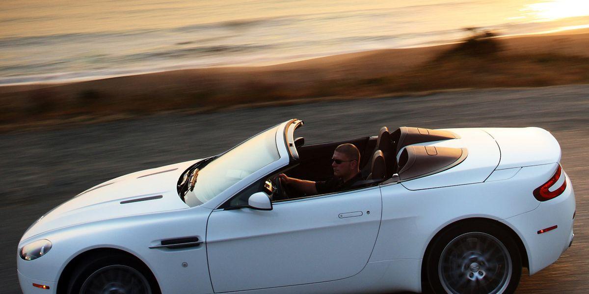 2009 Aston Martin V8 Vantage Roadster 8211 Instrumented Test 8211 Car And Driver