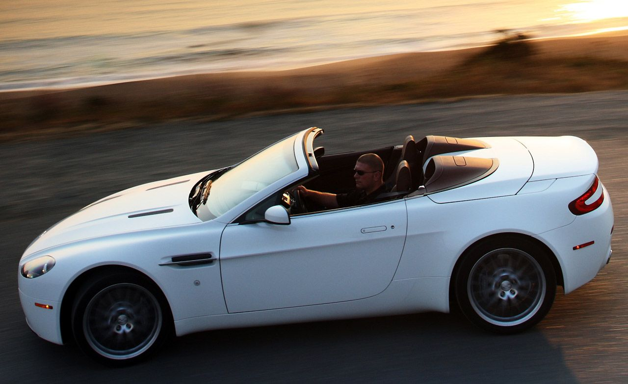 2009 Aston Martin V8 Vantage Roadster 8211 Instrumented Test 8211 Car And Driver
