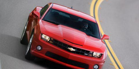 2010 Chevrolet Camaro Ss V8 8211 Instrumented Test 8211