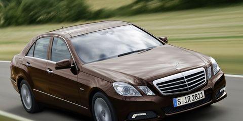 2010 Mercedes-Benz E-class / E550 –