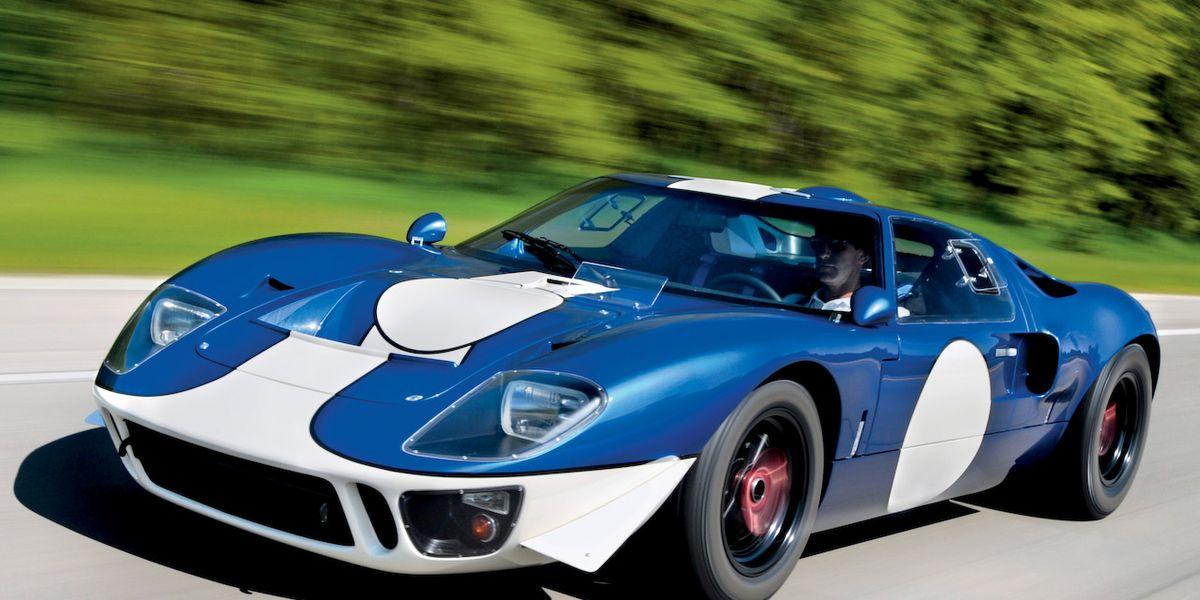 Superformance Gt40 Mkii Specialty File Car And Driver