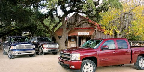 Dodge Ram vs  Ford F-150 and Chevy Silverado –