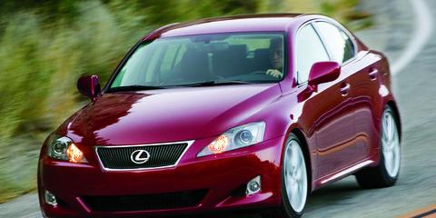 is 250 lexus 2008 hp
