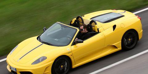 Tire, Wheel, Mode of transport, Automotive design, Vehicle, Yellow, Land vehicle, Performance car, Car, Sports car,