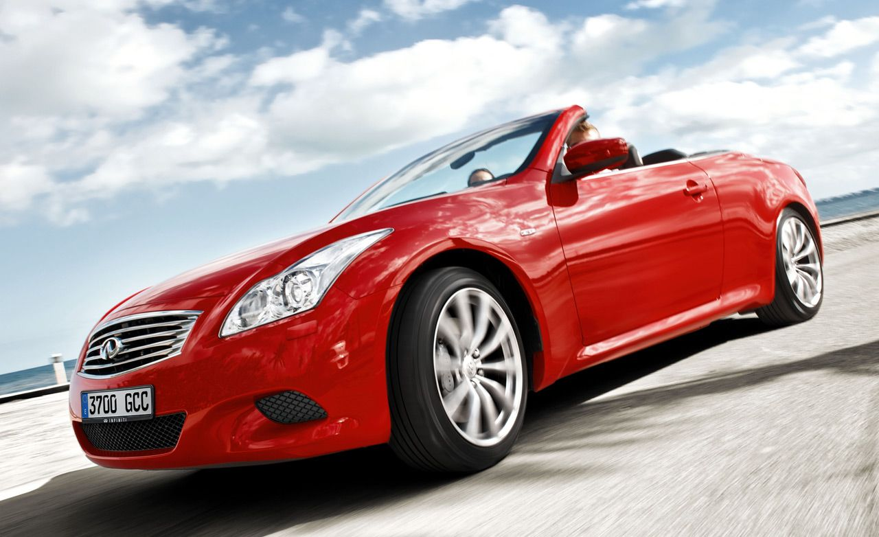 2009 Infiniti G37 Convertible 8211 Instrumented Test Car And Driver