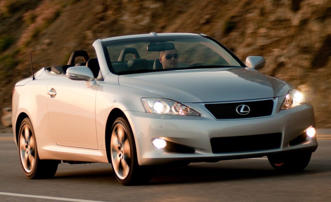 2010 Lexus Is Convertible Is250c Is350c First Drive