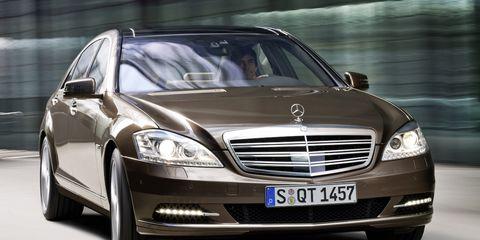 2010 Mercedes-Benz S-class / S550 / S600 –