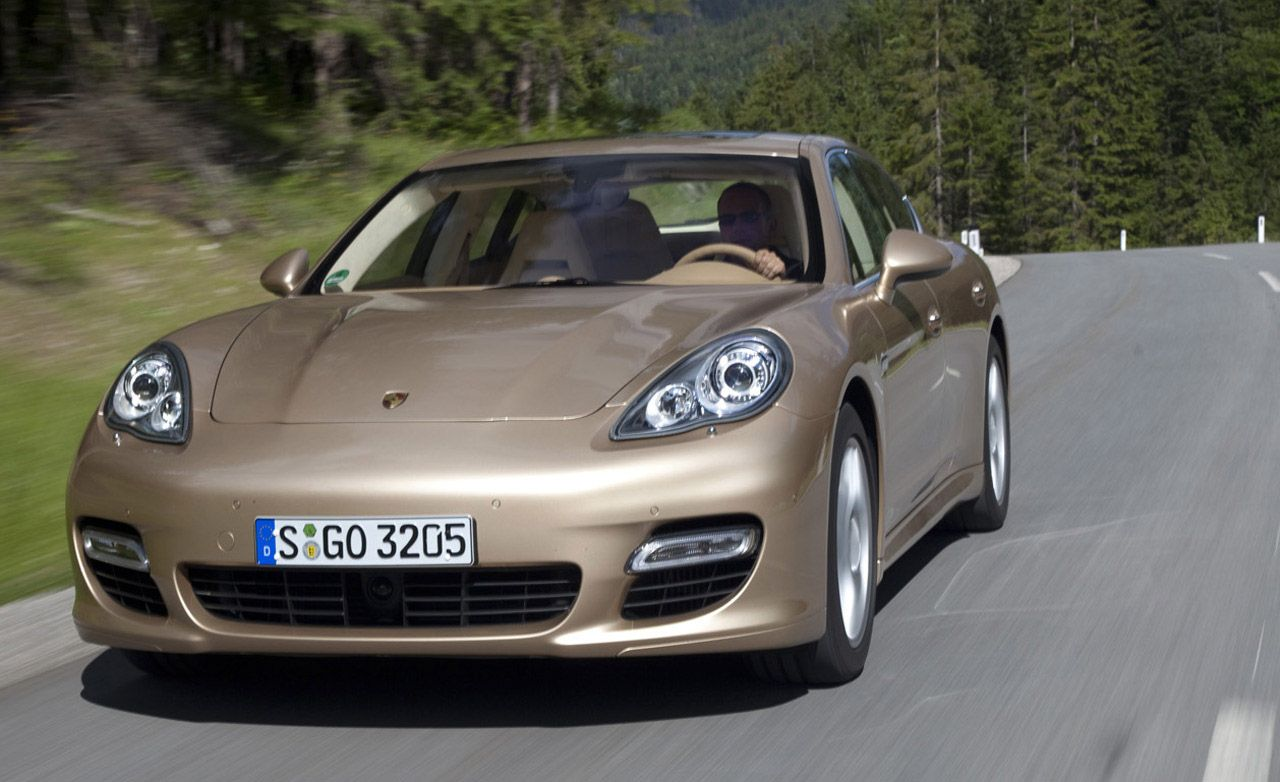 2010 Porsche Panamera S 4s Turbo 8211 Review Car And Driver