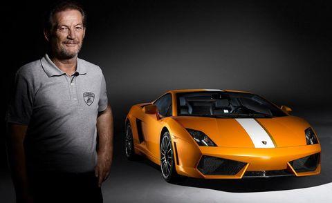 Land vehicle, Vehicle, Supercar, Sports car, Automotive design, Car, Lamborghini, Yellow, Performance car, Automotive exterior,