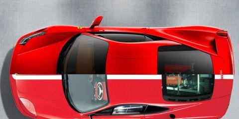 Automotive design, Mode of transport, Vehicle, Automotive exterior, Transport, Supercar, Car, Red, Automotive lighting, Sports car,