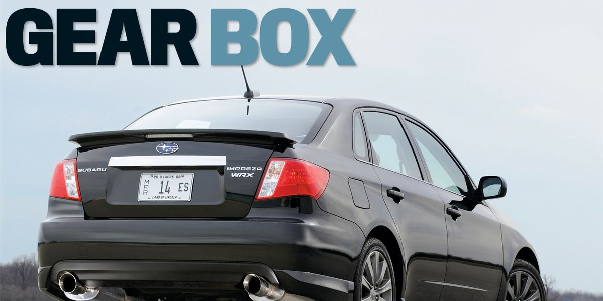 Five Steps to Making More Power in Your Subaru WRX –