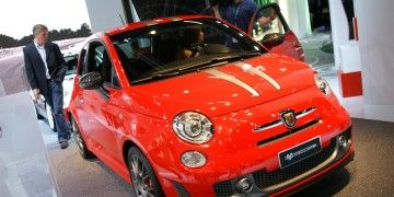 2010 Fiat 500 Abarth 695 Tributo Ferrari