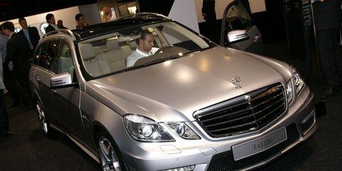 2011 Mercedes Benz E63 Amg Wagon