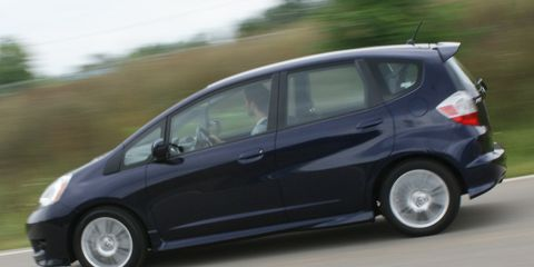 2009 Honda Fit Sport Automatic 8211 Instrumented Test 8211 Car
