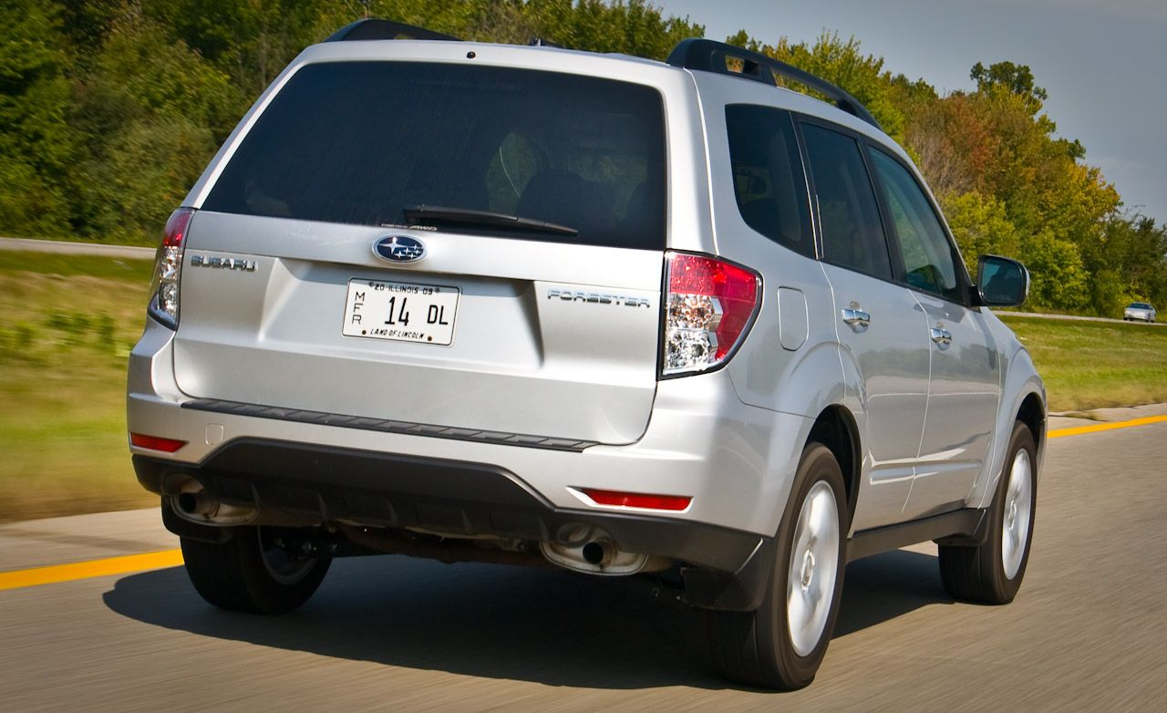 2009 Subaru Forester 2 5X Road Test –