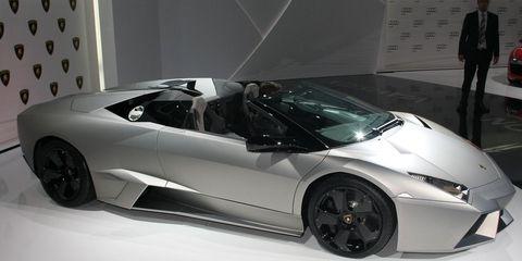 2010 Lamborghini Revent 243 N Roadster 8211 News 8211 Car And