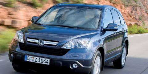 Honda CR-V 2 2 i-CDTi EX Road Test –